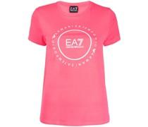 EA7 T-Shirt mit Logo-Print