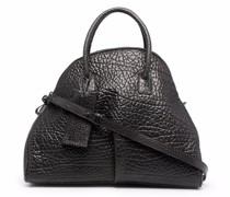 Budino curved leather tote