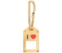 I Love keychain