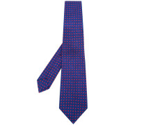 Krawatte mit Quadratmuster - men - Baumwolle