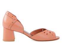 chunky heel pumps