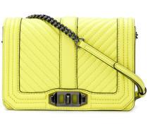 quilted shoulder bag - women - Leder