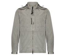zip-up goggle-hoodie jacket