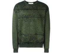 Pullover mit verpixeltem Muster