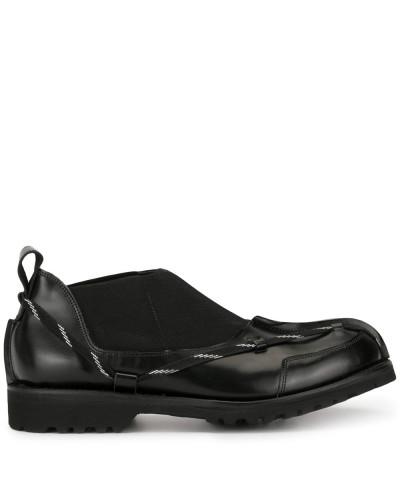 Schuhe mit breiter Sohle