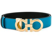 double Gancini buckle belt