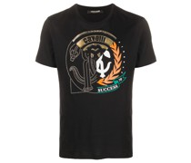 T-Shirt mit Logo-Prägung