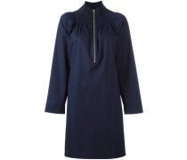 Kleid mit elastischem Kragen