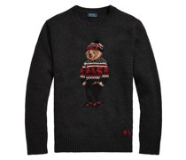 Strickpullover mit Polo Bear