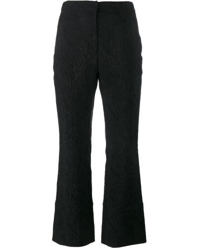 Brokat-Hose mit hohem Bund