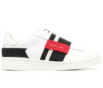 panelled slip-on sneakers
