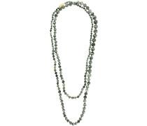 'Mil' Halskette mit Steinperlen