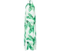halterneck long dress
