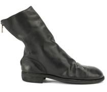 - Stiefel mit Reißverschluss - men - Pferdeleder