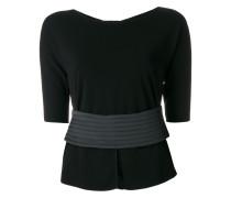 Pullover mit Taillengürtel