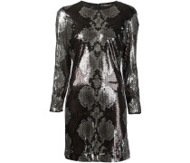 Kleid mit Pythonleder-Optik - women
