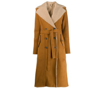 Shearling-Trenchcoat
