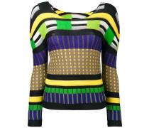 Sweatshirt in Colour-Block-Optik - women