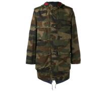 Mantel mit Camouflage-Print - men