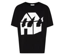 x David Wojnarowicz 'Burning House' T-Shirt