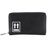 logo zipped wallet
