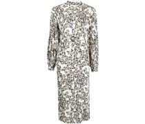 Dilona Kleid mit Schmetterling-Print