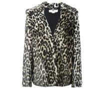 'Dan' Mantel mit Leopardenmuster