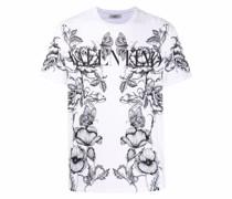 T-Shirt mit botanischem Print