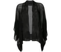 sheer relaxed jacket