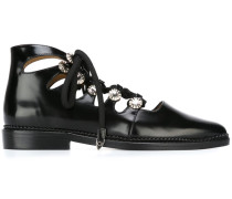 Verzierte Schnürschuhe - women - Leder - 37