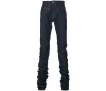 Jeans mit Logo-Schild