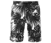 Shorts mit Palmen-Print - men