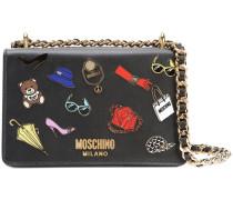 - Handtasche mit Applikationen - women - Leder
