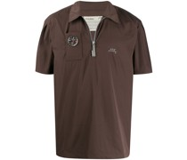A-COLD-WALL* Poloshirt mit Logo-Patch
