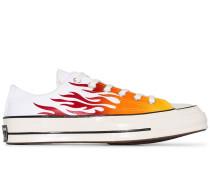 'Chuck 70' Sneakers mit Flammen-Print