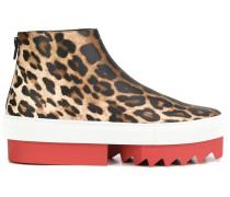 Sneakers mit Lepardenmuster - women