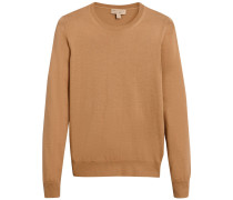 check detail sweater