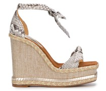 'Clarita' Wedge-Sandalen
