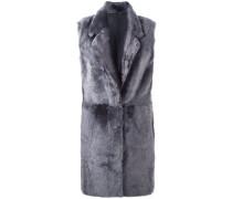 Mantel mit weitem Kragen
