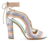 Crazy Stripes Metallic Rainbow