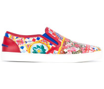 "Slip-On-Sneakers mit ""London Mambo""-Print"