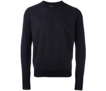 Gestricker Pullover mit Nadelstreifen