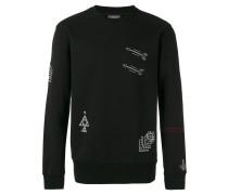Besticktes Sweatshirt - men - Baumwolle - M