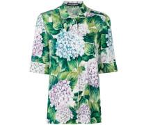 Pyjama-Hemd mit floralem Print