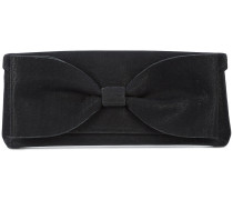 bow detail envelope clutch