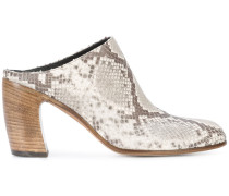 snake-effect mules