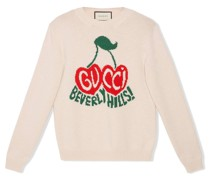 Pullover mit Kirschen-Logo