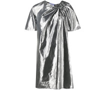 Schmales Metallic-Kleid