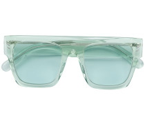 clear framed sunglasses
