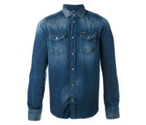 Klassisches Jeanshemd - men - Baumwolle - XL